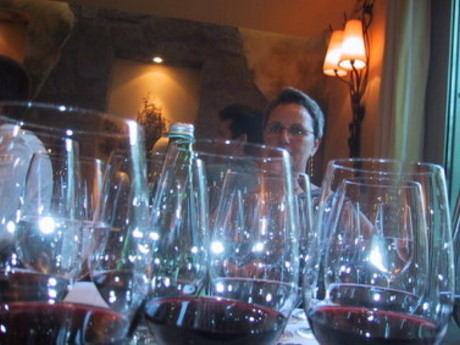 Winetasting with Riedel Glasses
